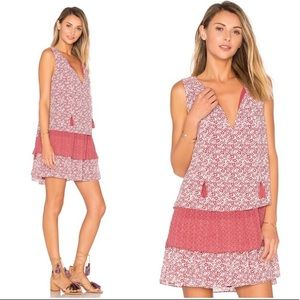 Tularosa Brady Sleeveless Dress in Dusted Berry